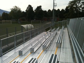 Illuminazione campo da calcio a illuminazione a soffitto a led